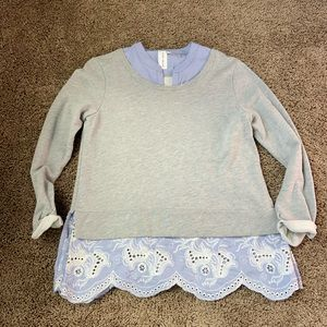 Anthropologie guest editors top size m
